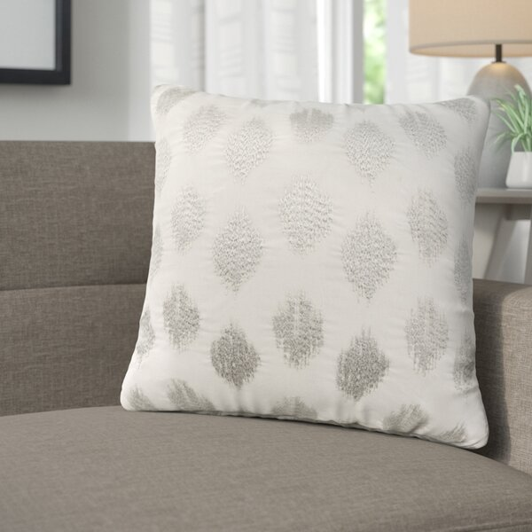 Behan Dot 100% Cotton Throw Pillow by Langley Street